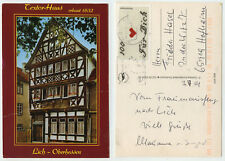 49037 - Lich, Oberhessen - Textor-Haus - Ansichtskarte, gelaufen - Frauenausflug