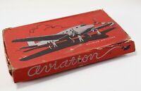 Antique 1930's American Pencil Spirit of St Louis Aviation A-14937 School Box
