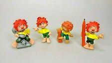 Pumuckl Set von 4 Figuren  Bully Schleich Buchagentur Vintage