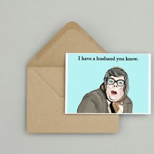 Recycled Hand Made Card League of Gentlemen Inspired Birthday Card Funny/Humour