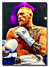 ACEO 2017 CONOR McGREGOR CM-1 Limited Edition 2/3 Art Sketch Card Artist Signed