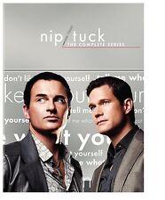 Nip/Tuck Complete Series Season 1-6 DVD SET Collection Lot TV Show Episodes Box