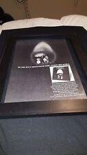 Mahavishnu Orchestra Inner Mounting Flame Rare Original Promo Poster Ad Framed!
