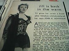 newspaper cutting 1956 jill adams the glying doctor