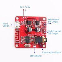 Mini MP3 Bluetooth 4.2 Lossless Decoder Board 5W+5W Car Speaker Amplifier Board