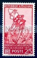 ITALIA 1954 - PINOCCHIO  NUOVO  **