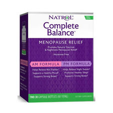Natrol - Complete Balance For Menopause with Soy&Calcium - 30 + 30 Capsules
