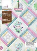 Anita Goodesign Blanket Stitch Baby Embroidery Machine CD NEW 189AGHD