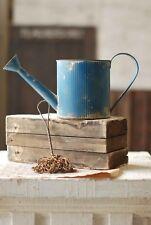 GALVANIZED WATERING CAN-Small Blue Farmhouse Decor