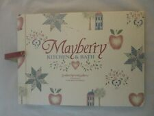 1991 Mayberry Kitchen & Bath Wallcoverings Sample Book 18x13 (523)