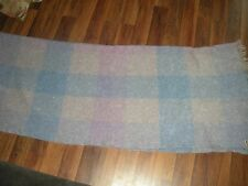 PURE MOHAIR BLANKET / THROW  Made in Scotland by Andrew Stewart, Vintage