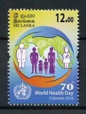 Sri Lanka 2018 MNH World Health Day Colombo 1v Set Stamps