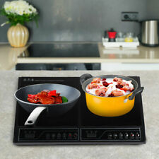 Electric Dual Induction Cooker Cook Counter  Burner 2000W Counter Hot Plate