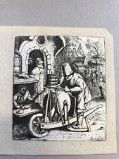 "The Knifegrinder. ""hot press"" Adriaen van Ostade;1782-1803"