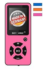 BERTRONIC Made in Germany BC03 16 GB MP3-Player - Pink - 100 Stunden