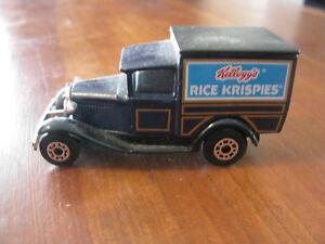 "1979 ""Rice Krispies"" Model A Ford Matchbox Truck"
