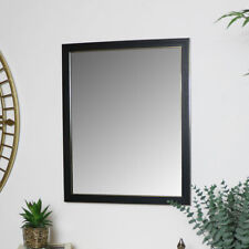 Black & Gold Rectangle wall Mirror vintage modern home wall decor