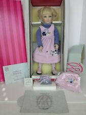 COA #272 NEW AND NEVER REMOVED FROM BOX MARIE OSMOND SHELBY PORCELAIN DOLL