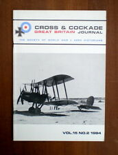 CROSS & COCKADE VOL.15 NO.2 1984 (Dornier Gsi, Coastal Patrol Airships)