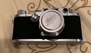 Vintage Leica D.R.P. Ernst Leitz Wetzlar Camera No 468587 With Lens *USA SELLER*