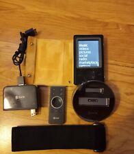 Microsoft Zune 30Gb Digital Media Player Brown Model 1091 + Accessories Tested