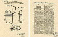 SCRIPTO VU LIGHTER US PATENT Art Print READY TO FRAME!!!! Vintage 1961 buy