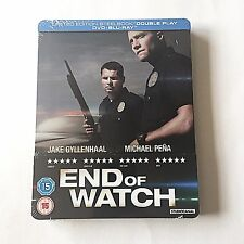 End of Watch Blu-ray Steelbook [UK] Ultra Limited Edition! OOS/OOP! SOLD OUT NEW