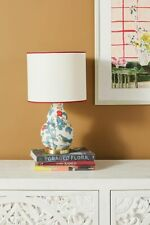 Anthropologie Molly Hatch Flower Patch Table Lamp with Shade