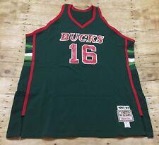 Milwaukee Bucks Jersey VTG 1983-84 Bob Lanier Mitchell Ness 3XL Sz 56 NBA Retro
