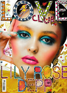 Love Magazine #15 S/S 2016 - Lily Rose Depp Cover