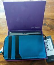 Ted Baker Invested Contrast Zip Around Card holder BNWT