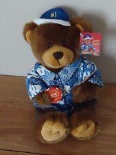"POKER PLAYER TEDDY BEAR ""World Champ"" #1 stuffed plush w/Tag 10"""