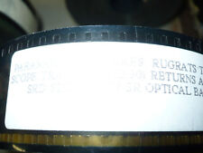 RUGRATS THE MOVIE, unused orig 35mm trailer [animation] - FINAL