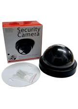 Dummy Camera CCTV Security Surveillance 2 Dome Cam Fake IR LED Light Outdoor