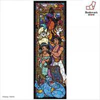 New Disney 456 Piece Jigsaw Puzzle Aladdin Stained Glass 18.5x55.5cm