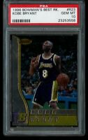 1996-97 Bowman's Best Kobe Bryant Rookie PSA 10 Gem Mint RC R23 LA Lakers HOF