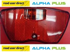Alpha PLUS xh48 Bisaccia Rack Mount Posteriore LED Luce Ciclo-Free Tracked COURIER