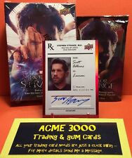 Upper Deck Doctor Strange SCOTT ADKINS Red Foil Autograph as LUCIAN SS-AD