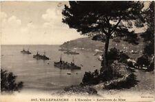 CPA  Villefranche - L'Escadre - Environs de Nice     (655918)