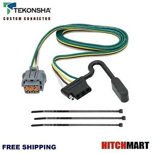 TRAILER HITCH OE WIRING FOR 2005-2017 FRONTIER, 2005-2015 XTERRA  w TOW PACKAGE