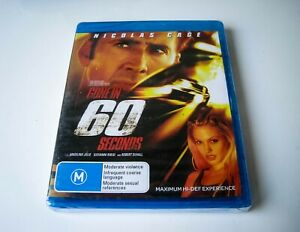 GONE IN 60 SECONDS - BLU-RAY | LIKE NEW & SEALED