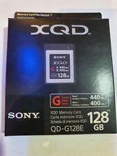 Sony XQD Memory Card 128GB