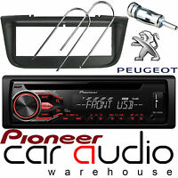 Peugeot 406 Pioneer CD MP3 USB AUX In Car Stereo Radio Player & Full Fitting Kit