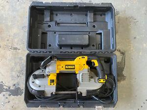 DeWALT DWM120K Variable-Speed Deep Cut Portable Band Saw Tool Kit