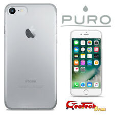 PURO Custodia Ultra Slim 0.3 mm Per iPhone 7 8 Cover NUDE Trasparente Sottile