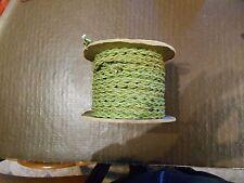 "GPO Jade Green  Bakelite Telephone Handset or Line Cord - Old Stock Drum  78' 9"""