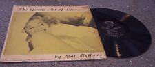 "Mat Mathews ""The Gentle Art of Love"" DAWN RECORDS #DLP-1111 ACCORDION JAZZ LP"