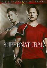 Supernatural : Season 6 (DVD, 2011, 6-Disc Set)