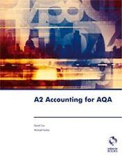 A2 Accounting for AQA by David Cox, Michael Fardon (Paperback, 2009)