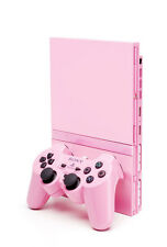 SONY PS2 Limited Pink Console + 1 Piink Controller *VGC